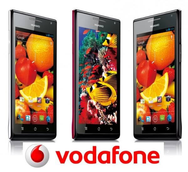 Huawei Ascend P1 con Vodafone, precios y tarifas