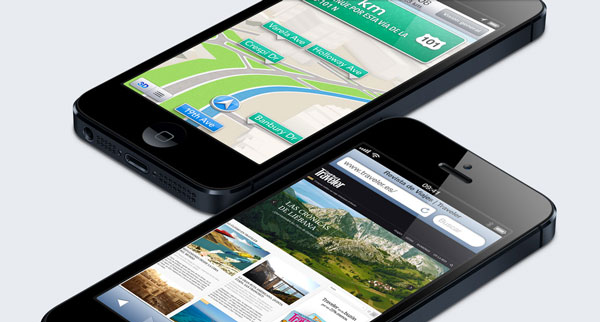 Samsung Galaxy Note 2 vs iPhone 5