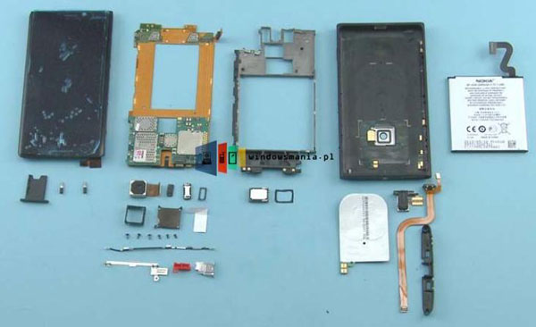 Nokia Lumia 920 despiezado