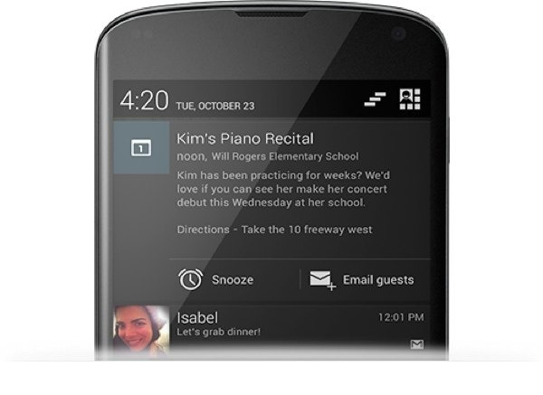 android notifications 42