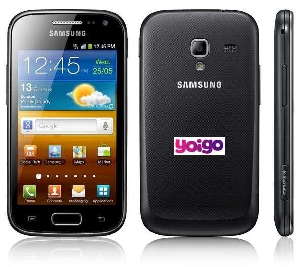 Samsung Galaxy Ace 2, precios y tarifas con Yoigo