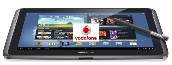 Samsung Galaxy Note 10.1 disponible con Vodafone
