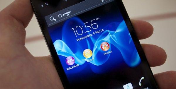 Sony Xperia U, Sola y Go se actualizan a Android 4.0