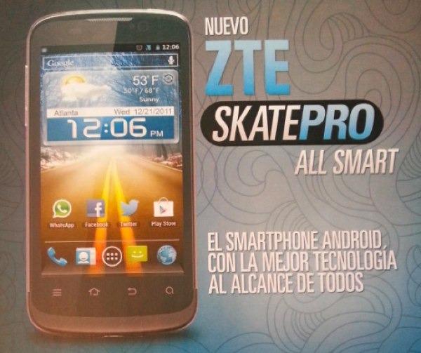 ZTE Skate Pro, precios y tarifas con Movistar