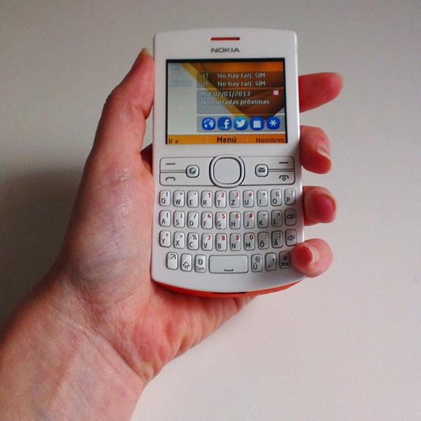 Nokia Asha 205 prueba