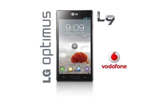 LG Optimus L9, tarifas con Vodafone