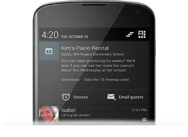 Samsung Galaxy S3 y Galaxy Note 2, con Android 4.2 a principios de 2.013