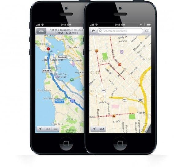 Apple se rinde y Google Maps vuelve al iPhone 5