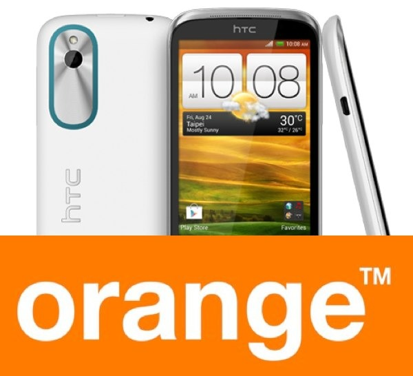 HTC Desire X, tarifas con Orange