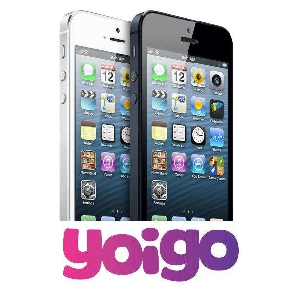 iPhone 5 con Yoigo, en España a partir del 14 de diciembre
