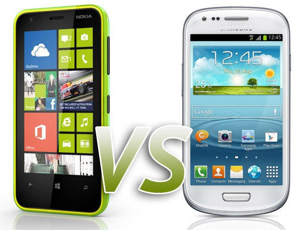 Comparativa: Nokia Lumia 620 VS Samsung Galaxy S3 Mini