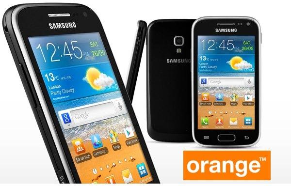 Samsung Galaxy Ace 2, tarifas con Orange