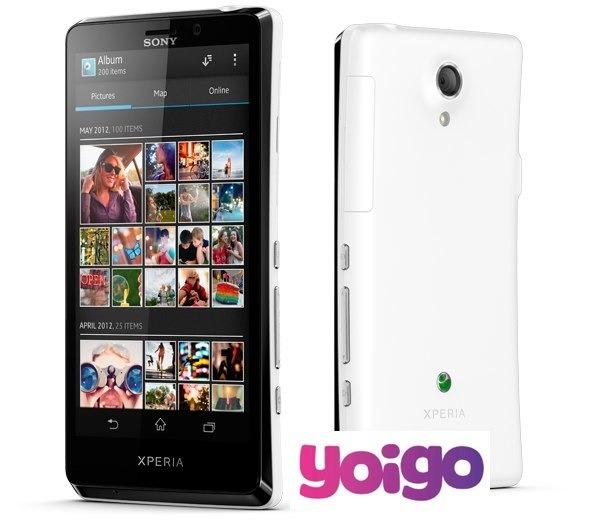 Sony Xperia T, tarifas con Yoigo