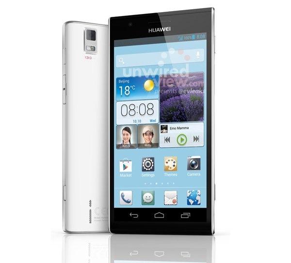 Huawei Ascend P2, aparece su primera imagen oficial