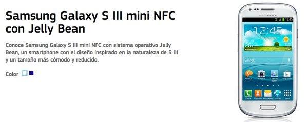 Aparece una versión del Samsung Galaxy S3 mini con NFC