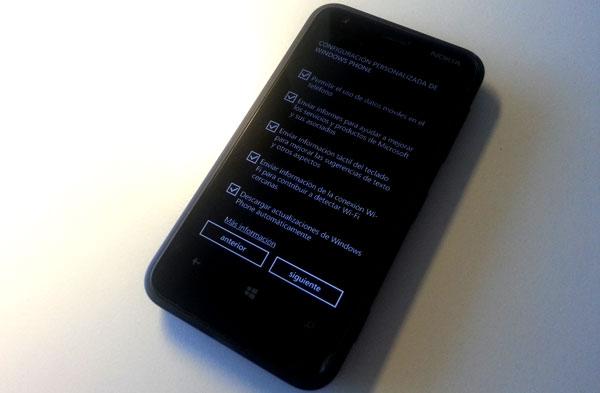 Nokia Lumia 620: Primeros pasos