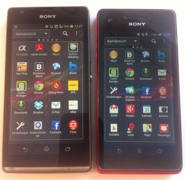 Nuevas imágenes del Sony Xperia SP