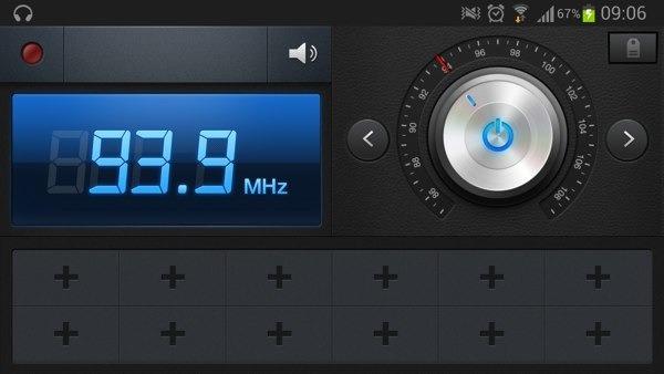 Cómo escuchar y grabar la radio con el Samsung Galaxy S3