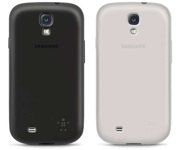 Nuevas fundas y carcasas de Belkin para el Samsung Galaxy S4
