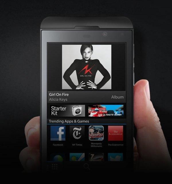blackberry z10 vodafone