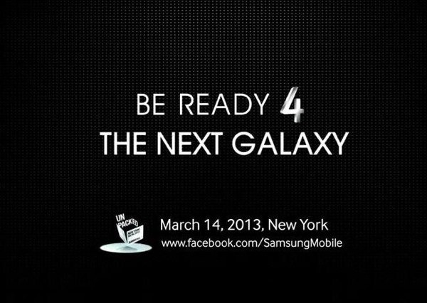 Samsung sube a Twitter la primera imagen oficial del Samsung Galaxy S4