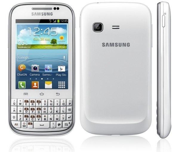 Samsung Galaxy Chat recibe actualización a Android 4.1.2