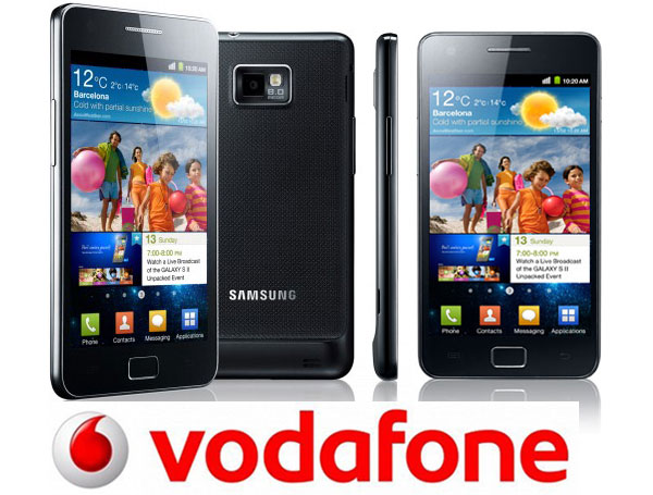 Samsung Galaxy S2 de Vodafone se actualiza a Android 4.1.2