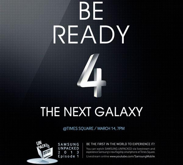 Nuevo vídeo de presentación del Samsung Galaxy S4