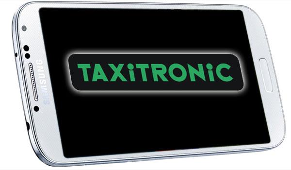Taxitronic permite pagar el viaje con un toque del móvil Samsung en el taxímetro