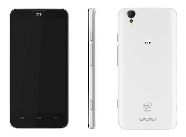ZTE Geek, smartphone de 5 pulgadas con procesador Intel