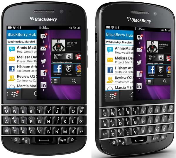 BlackBerry Q10, precios y tarifas en España con Vodafone