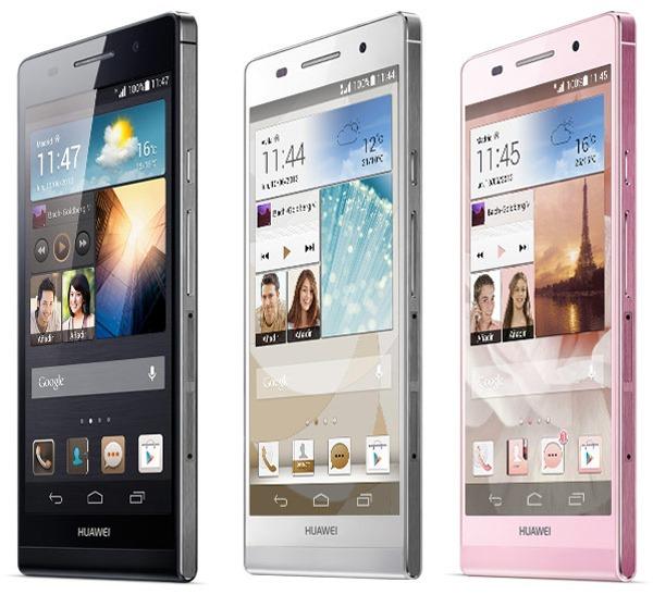 Precios y tarifas del Huawei Ascend P6 con Movistar