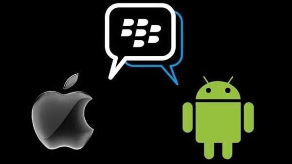 El servicio de mensajería BlackBerry Messenger llegará a Android y al iPhone