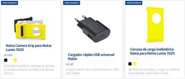 Estos son los primeros accesorios para el Nokia Lumia 1020