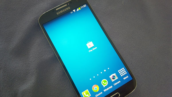 Samsung Galaxy S4 Google Play