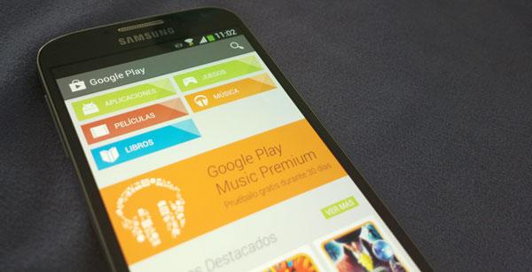 Samsung Galaxy S4 Google Play