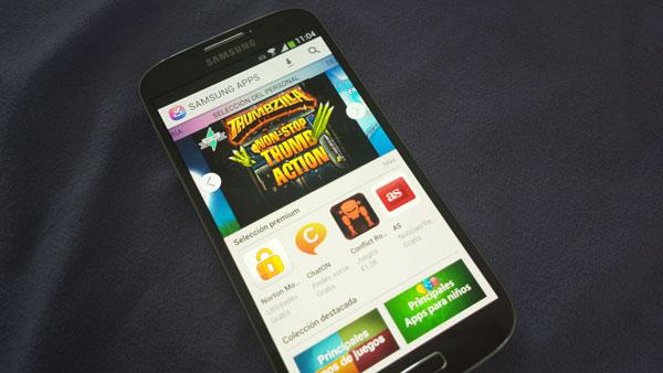 Samsung Galaxy S4 Samsung Apps