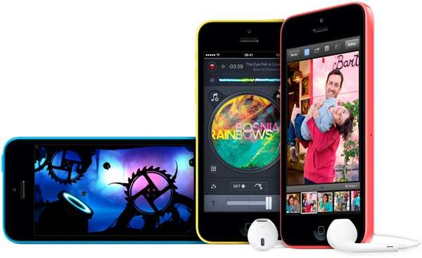 Novedades del iPhone 5C en comparación con el iPhone 5
