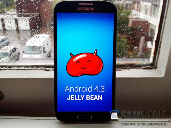 Ya puede descargarse la ROM de Android 4.3 para el Samsung Galaxy S4