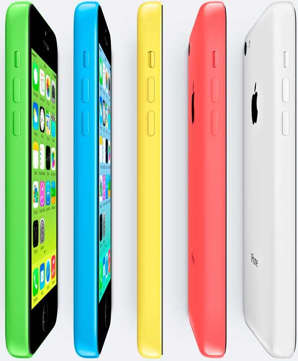 iPhone 5C con Movistar, precios y tarifas
