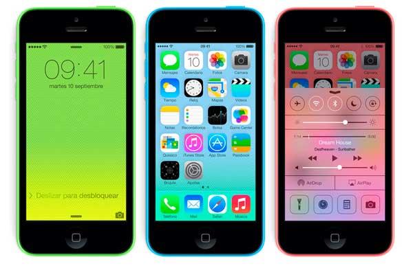 iPhone 5C con Yoigo, precios y tarifas