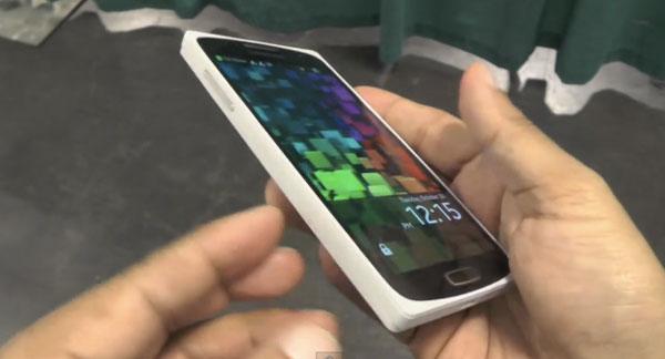 El primer móvil Tizen de Samsung queda al descubierto
