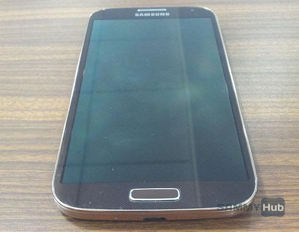 Esta es la edición oro o Gold Brown del Samsung Galaxy S4