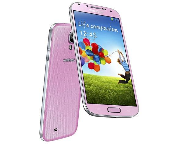El Samsung Galaxy S4 rosa empieza a llegar a Europa
