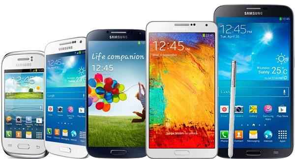 equipos celulares samsung