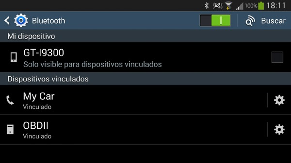Emparejar Android con un dispositivo Bluetooth