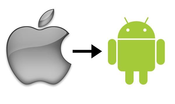 Resultado de imagen para apple a android