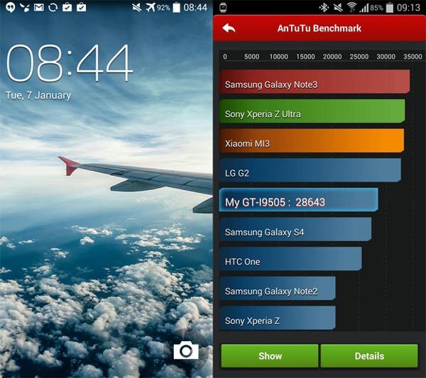 Primera imagen de Android 4.4 KitKat en el Galaxy S4