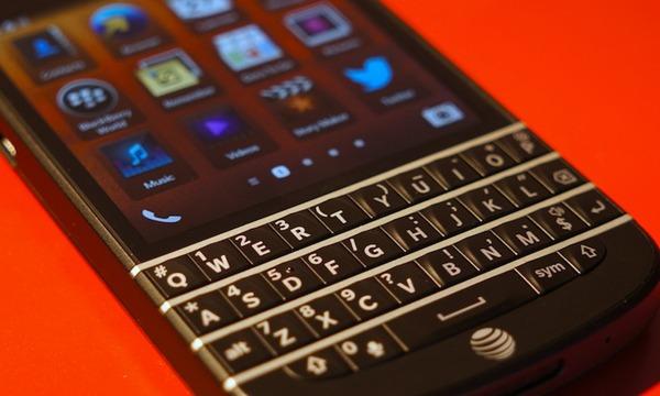 Teclados físicos de BlackBerry