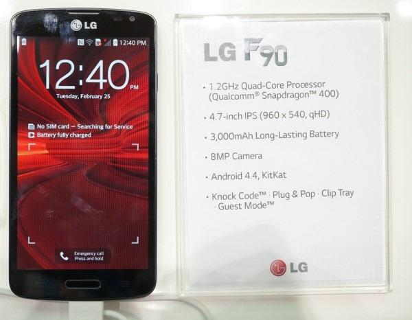 LG F90, móvil barato con LTE